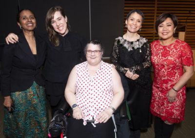 MAM event - award recipients, client, speaker, Diane