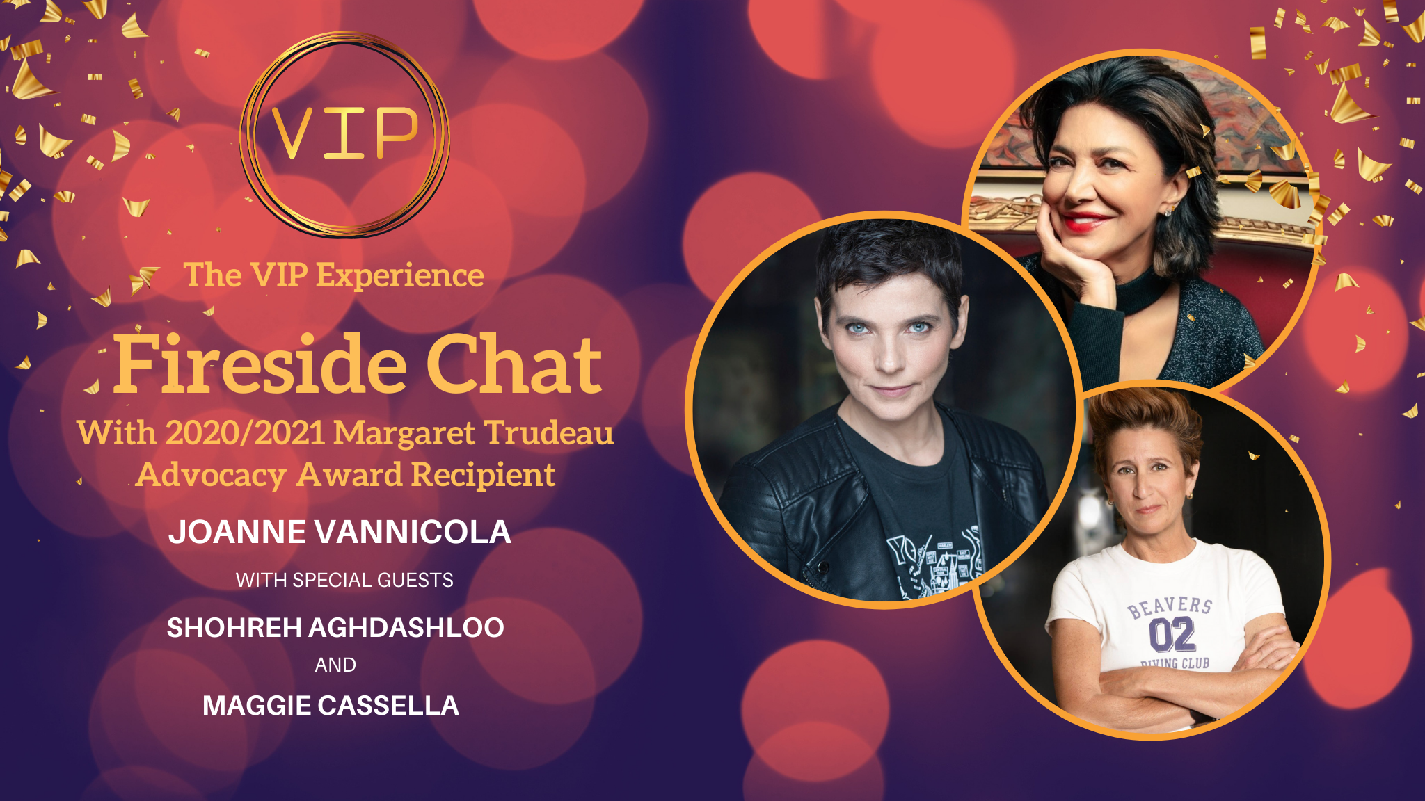Fireside Chat - Mad About Margaret's 2021 - Virtual Event
